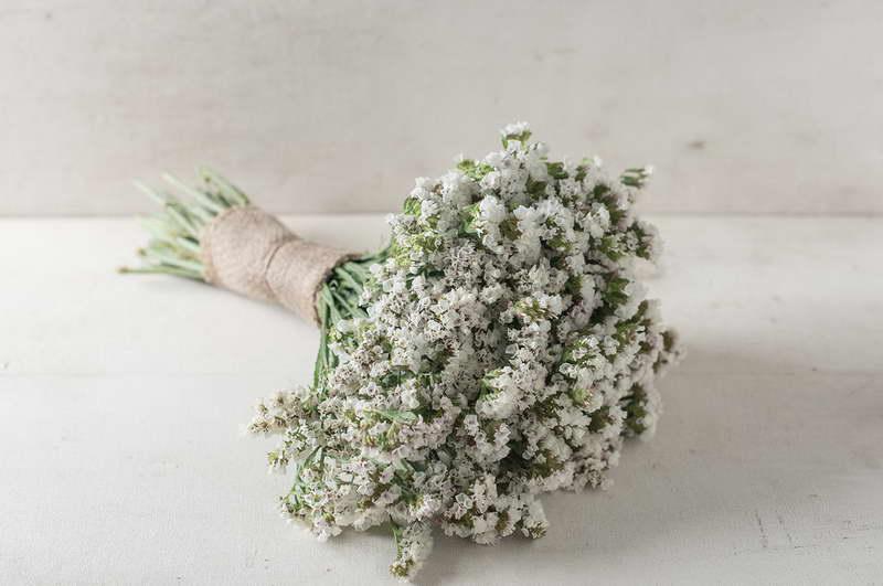 Букет невесты из лимониума статицы фото