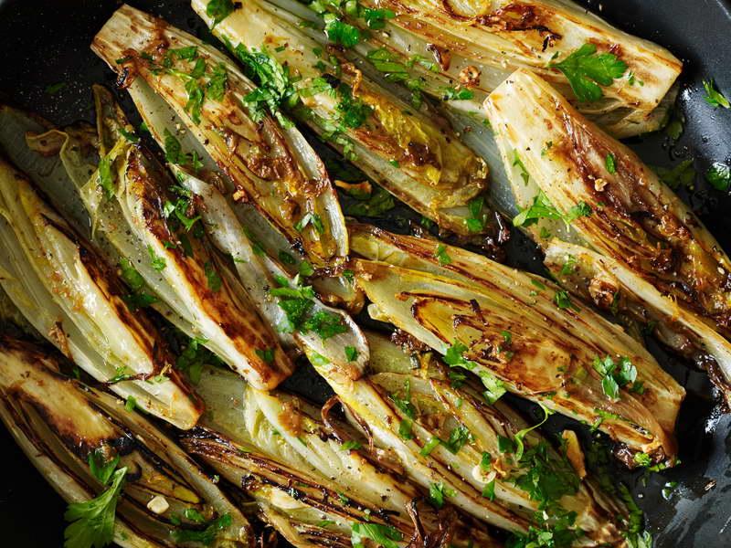 Как приготовить цикорный салат Витлуф фото