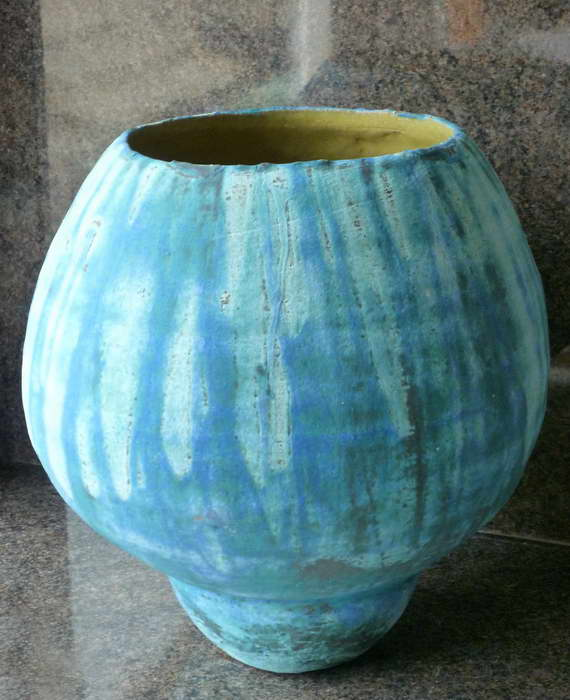 Простая ваза из лагенарии своими руками фото